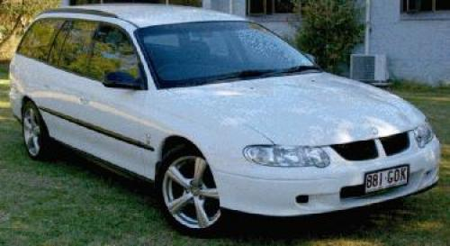 2002 Used HOLDEN COMMODORE VX Excecutive Wagon 2 Car Sales