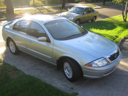 2000 Used FORD FAIRMONT AU II SEDAN Car Sales Croydon Hills VIC