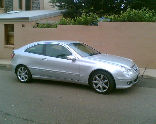 2005 used mercedes c230 evolution coupe car sales balmain nsw as new 49 800. Black Bedroom Furniture Sets. Home Design Ideas