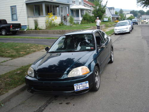 1998 used honda civic dx coupe car sales johnson city wa excellent 5 000. Black Bedroom Furniture Sets. Home Design Ideas