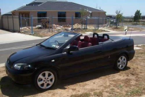 2002 Used Holden Astra Cabriolet Car Sales Sydney Nsw