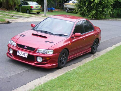 2000 Used SUBARU IMPREZA Wrx SEDAN Car Sales North Rockhampton QLD