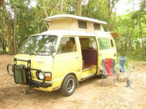 2d944b182c Used TOYOTA HIACE CAMPERVAN MOD) for sale with - Gas cooker (gas bottle  included) - watertank - a lot of cupboards - a safe for your valuables -  fridge