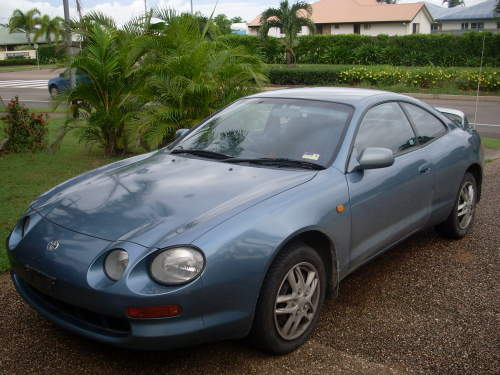 1995 used toyota celica coupe car sales kirwan qld good 7 500. Black Bedroom Furniture Sets. Home Design Ideas