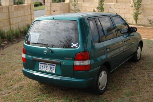 1998 used mazda 121 metro hatchback car sales maylands wa