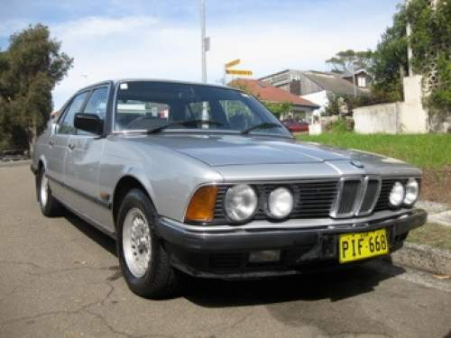 1984 used bmw 735i executive 7 sedan car sales bondi nsw very good 5 000. Black Bedroom Furniture Sets. Home Design Ideas