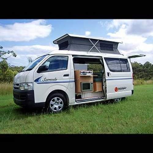 Used Toyota Campers For Sale: 2005 Used TOYOTA HIACE CAMPERVAN MOD) SUNCAMPER SORRENTO
