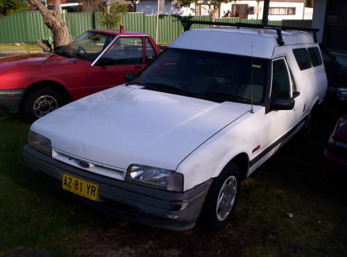 1994 used ford falcon longreach panel van car sales