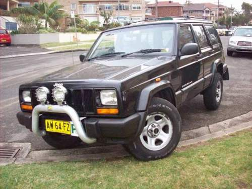 2000 used jeep cherokee xj 4 0l auto sport wagon car sales cronulla nsw very good 7 900. Black Bedroom Furniture Sets. Home Design Ideas