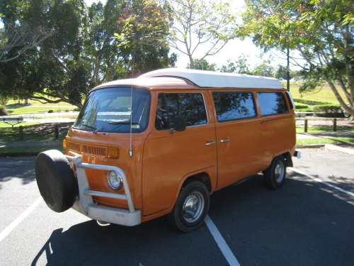 Used VOLKSWAGEN KOMBI CAMPER for sale with VW KOMBI CAMPER, REBUILT 2 LTR ENGINE, TINTED WINDOWS, CARPETED THROUGHOUT, UPHOLSTERED REAR SEAT, STOVE,