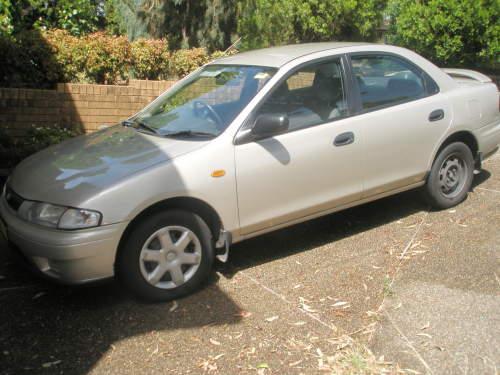 1998 used mazda 323 323m94a 3 sedan car sales baulkham hills nsw