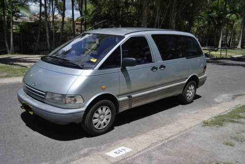 1991 Used TOYOTA TARAGO VAN Car Sales Cairns QLD Excellent 6995