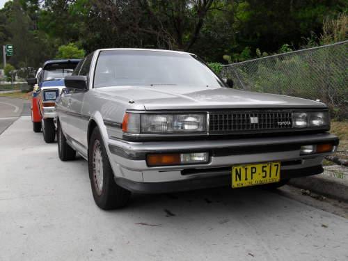 1988 used toyota cressida mx83 glxi sedan car sales artarmon nsw very good 600. Black Bedroom Furniture Sets. Home Design Ideas