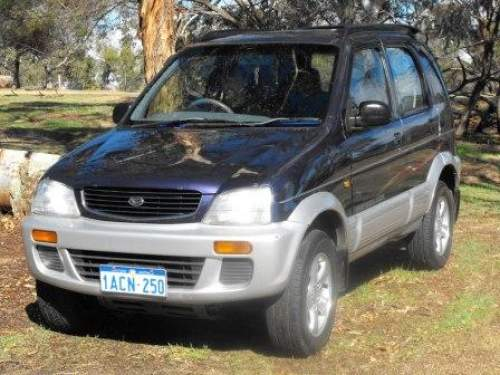 1997 used daihatsu terios wagon car sales bakers hill wa. Black Bedroom Furniture Sets. Home Design Ideas