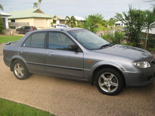 2003 used mazda 323 protege sedan car sales bushland beach. Black Bedroom Furniture Sets. Home Design Ideas