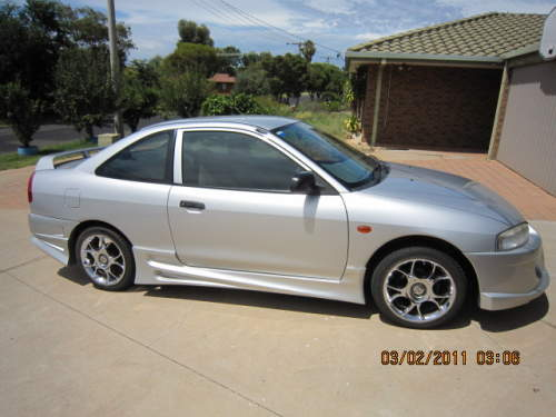 2002 used mitsubishi lancer gli coupe car sales redcliffs. Black Bedroom Furniture Sets. Home Design Ideas