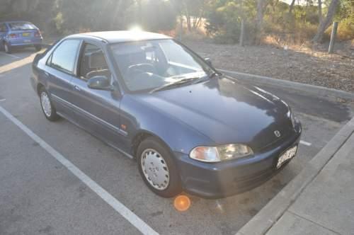 1992 used honda civic gl sedan car sales white gum valley for Used honda civic for sale under 5000