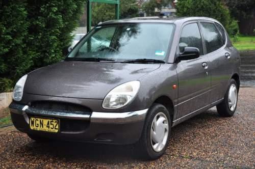Rhodes Auto Sales: 1999 Used DAIHATSU SIRION M100 HATCHBACK Car Sales Rhodes