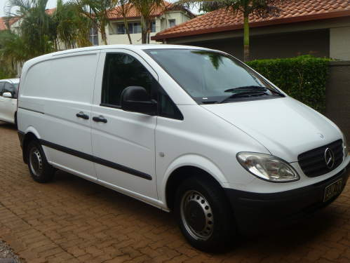 2004 Used MERCEDES VITO 109 cdi White VAN Car Sales Robina QLD