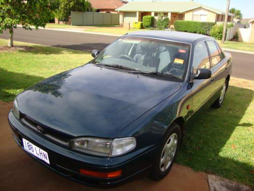 1997 used toyota camry sedan car sales toowoomba qld very good 3 000. Black Bedroom Furniture Sets. Home Design Ideas