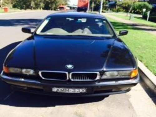 1998 used bmw 740i 740 sedan car sales ben lomond nsw. Black Bedroom Furniture Sets. Home Design Ideas