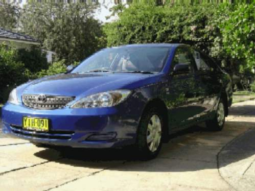 2002 used toyota camry altise altise sedan car sales singleton nsw excellent 15 000. Black Bedroom Furniture Sets. Home Design Ideas