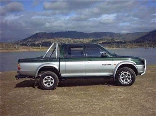 1999 mitsubishi triton dual cab