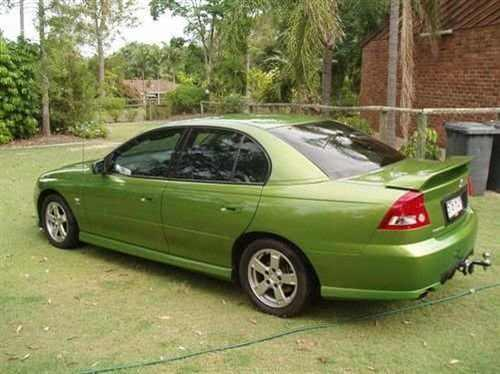 2003 Used HOLDEN COMMODORE VY S PAK SEDAN Car Sales Brisbane