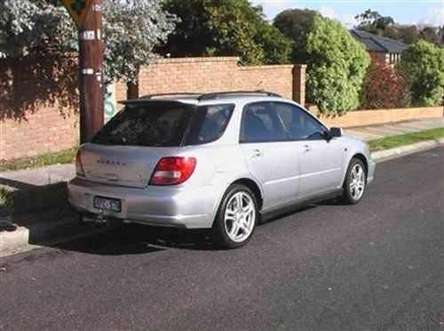 2001 used subaru impreza wrx hatchback car sales melbourne vic 27 600. Black Bedroom Furniture Sets. Home Design Ideas