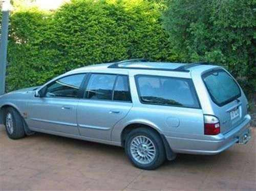 2000 Used FORD FAIRMONT AU II WAGON Car Sales Townsville QLD 14000