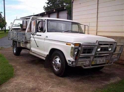 1977 used ford f350 f series tray car sales gympie qld 7 500. Black Bedroom Furniture Sets. Home Design Ideas