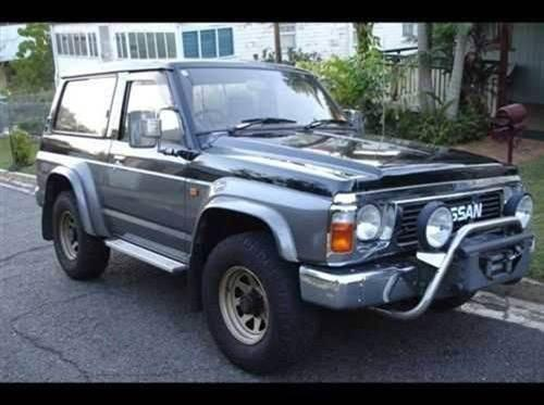 used nissan patrol gq swb for sale with 24v deisel electric window central locking pto whinch good interior low k s 12 999