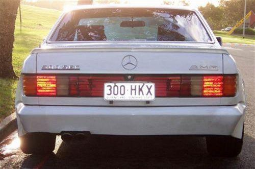 1985 Used MERCEDES-BENZ 560SEC W126 COUPE Car Sales Gold