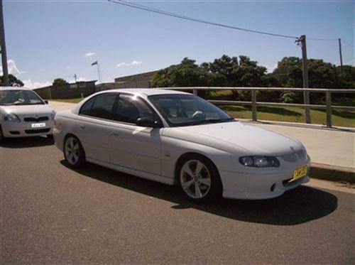 2002 Used HOLDEN COMMODORE VX SERIES 2 SEDAN Car Sales