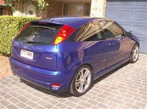2003 used ford focus st 170 hatchback car sales brisbane. Black Bedroom Furniture Sets. Home Design Ideas