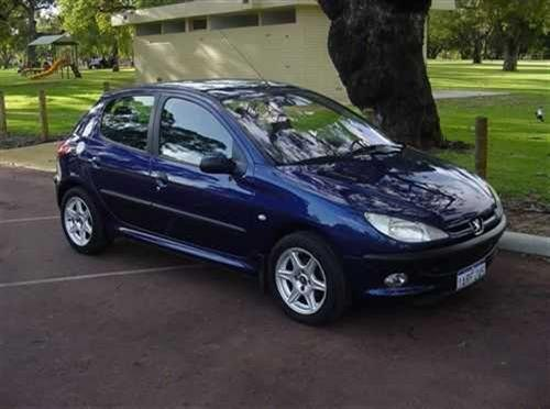 2000 used peugeot 206 xt hatchback car sales ashfield wa. Black Bedroom Furniture Sets. Home Design Ideas