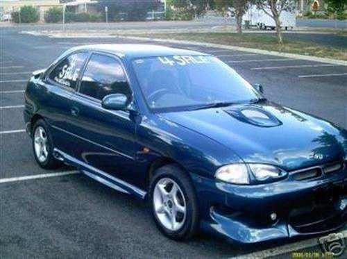 1998 used hyundai excel hatchback car sales kurrajong nsw 6 800