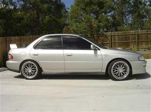2000 Used SUBARU IMPREZA WRX SEDAN Car Sales Brisbane QLD 24500