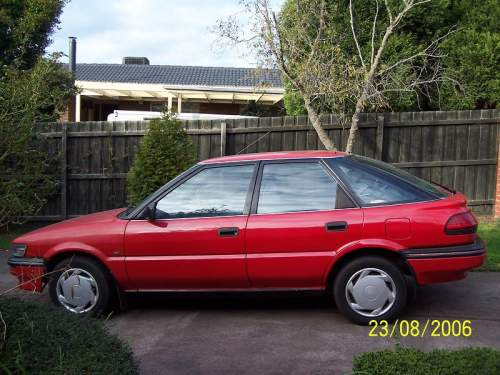 1991 used toyota corolla ae92 hatchback car sales vermont south vic excellent 3 150. Black Bedroom Furniture Sets. Home Design Ideas