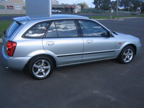 2003 mazda 323 hatchback