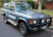 1985 TOYOTA LANDCRUISER in ACT