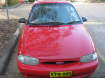 1997 FORD FESTIVA in NSW