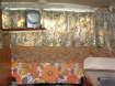 Enlarge Photo - Double Bed & B&W TV on swivel shelf